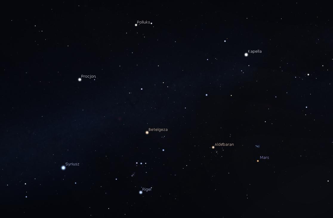 """""""Zwrot"""" astronomicky: Zimní souhvězdí na jaře"""