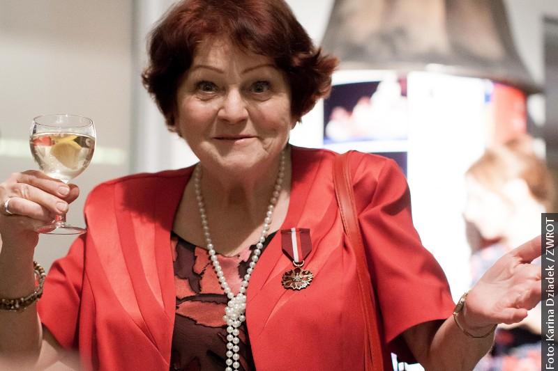 Halina Paseková získala Medaili Gloria Artis