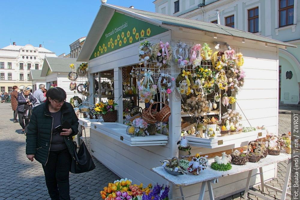 Na těšínském Rynku je velikonoční atmosféra