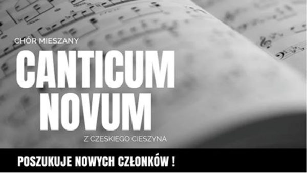Můžete se připojit ke sboristům Canticum Novum