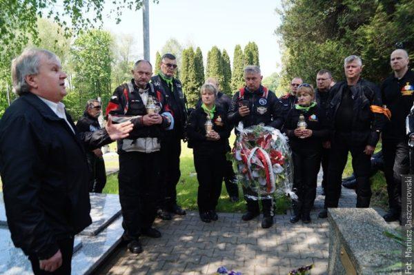 Motocyklisté z celého Polska navštívili Těšínské Slezsko a Zaolší