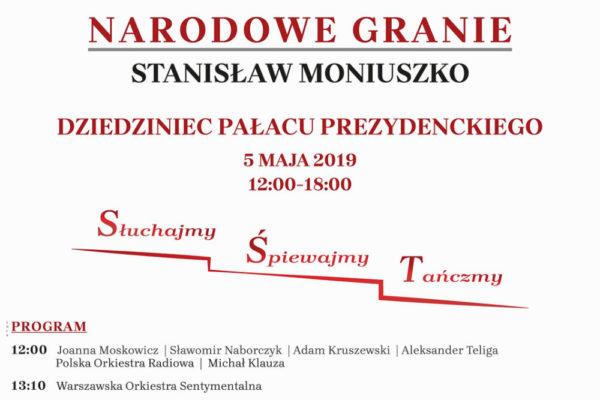 Dnes si připomínáme 200 let od narození Stanisława Moniuszki. U této příležitosti se v Polsku koná Národní hraní.