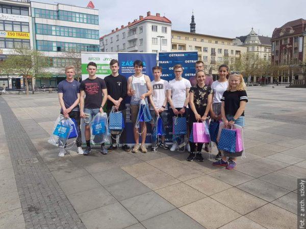Naší sportovci na stupních vítězů v Praze