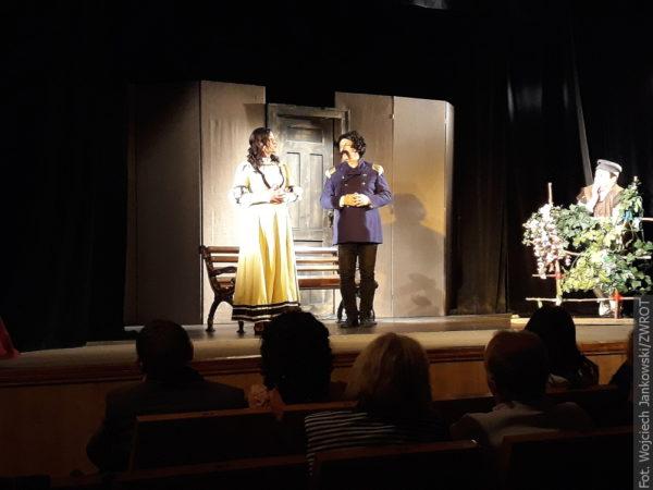 Divadlo z Vendryně hrálo ve Lvově