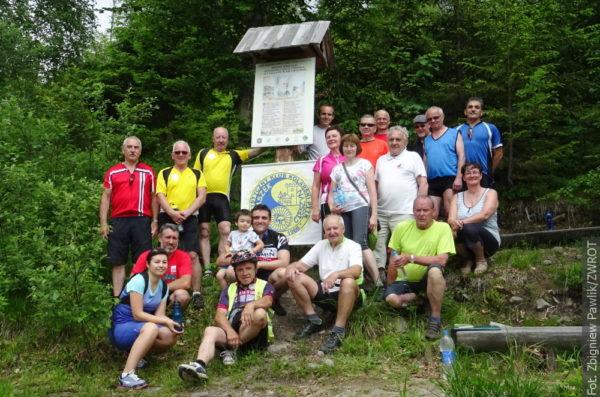 Cyklisté se vydali k pramenům Olzy