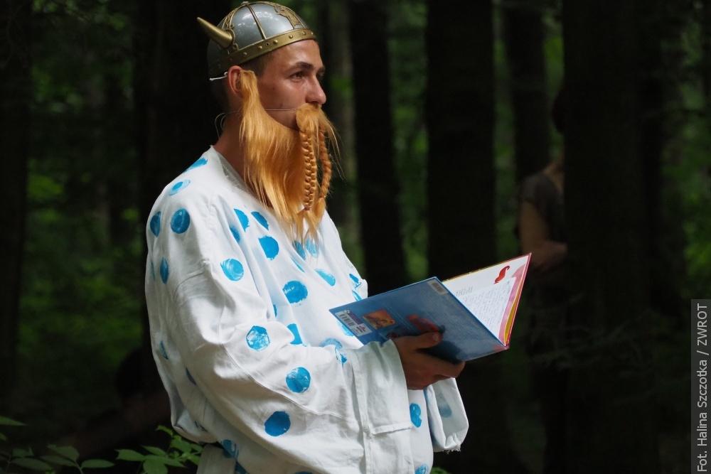 Pohádkový les také v polštině