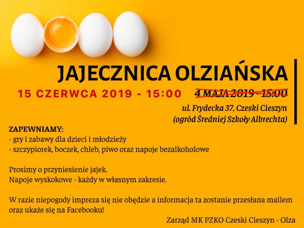Soubor Olza zve nejenom na svoje vystoupení, ale i vaječinu