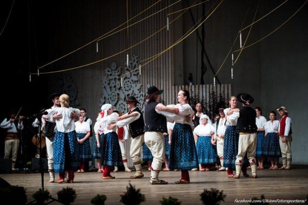 Oldrzychowice na Týdnu beskydské kultury v Żywci