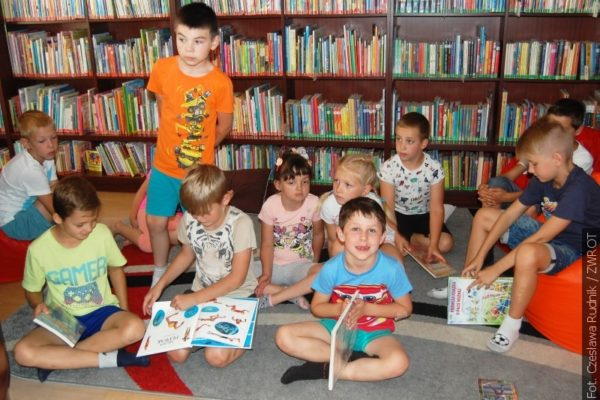 Táborníci se účastnili her s polským jazykem