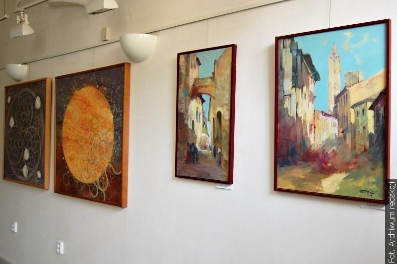 Ještě můžete navštívit výstavu našich umělců