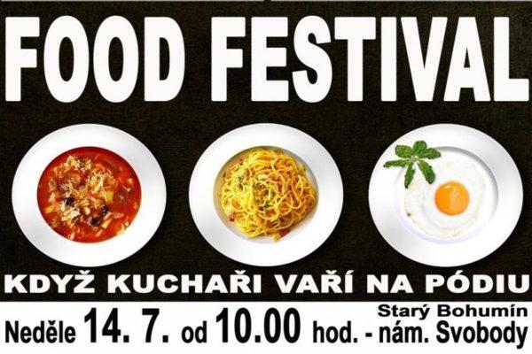 Ve Starém Bohumíně startuje první ročník Food festivalu