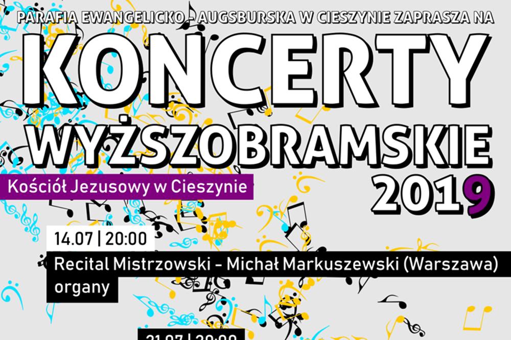 Dnes se koná první koncert z cyklu Koncertów Wyższobramskich