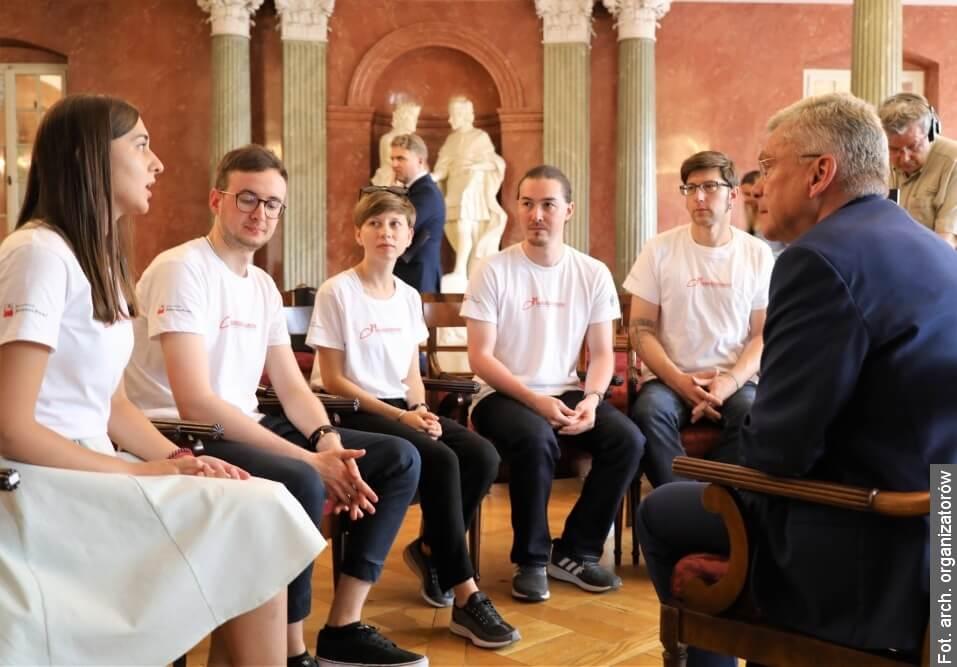 Orlí hnízdo opět hostí mladé Poláky z celého světa