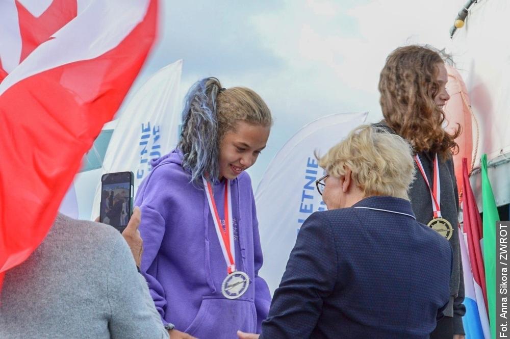 Sběratelé medailí – Viktoria Utíkal a Andrzej Waclawik