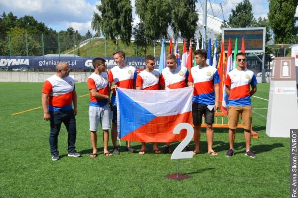 Naši futsalisté si ze světových her Polonie přivezli stříbro