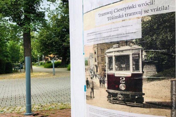Těšínskou tramvaj připomenou projekce a výstava