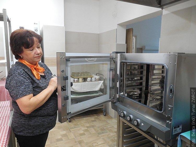 Proměna kuchyně v Domě PZKO v Dolní Lištné