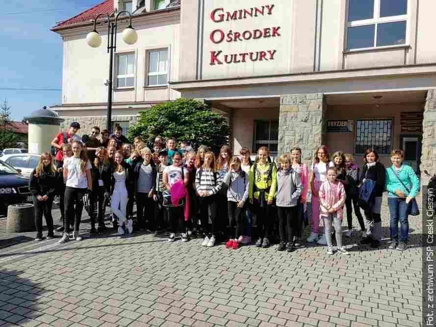 Mládež z Českého Těšína navštěvovala žáky z Cisownice a Dziegielowa