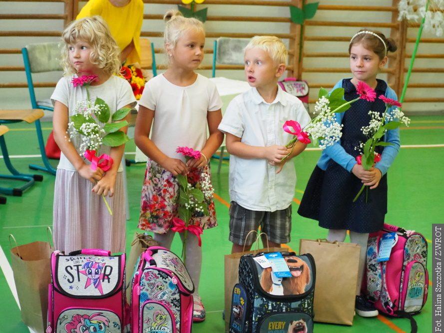 VBludovicích školní docházku začalo pět prvňáčků