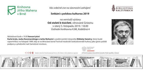 Setkání s polskou kulturou v Brně