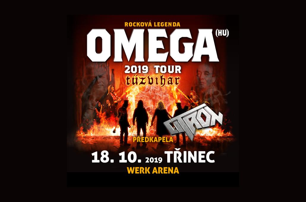 Maďarská rocková legenda Omega míří do Třince