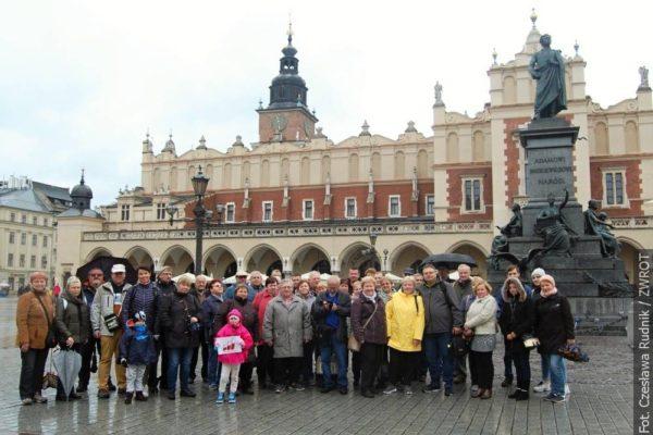 Sbor Dźwięk zpíval v Malopolsku