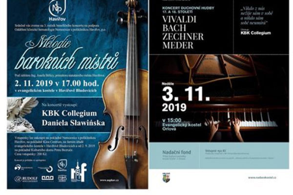V Bludovicích a Orlové se budou konat koncerty duchovní hudby