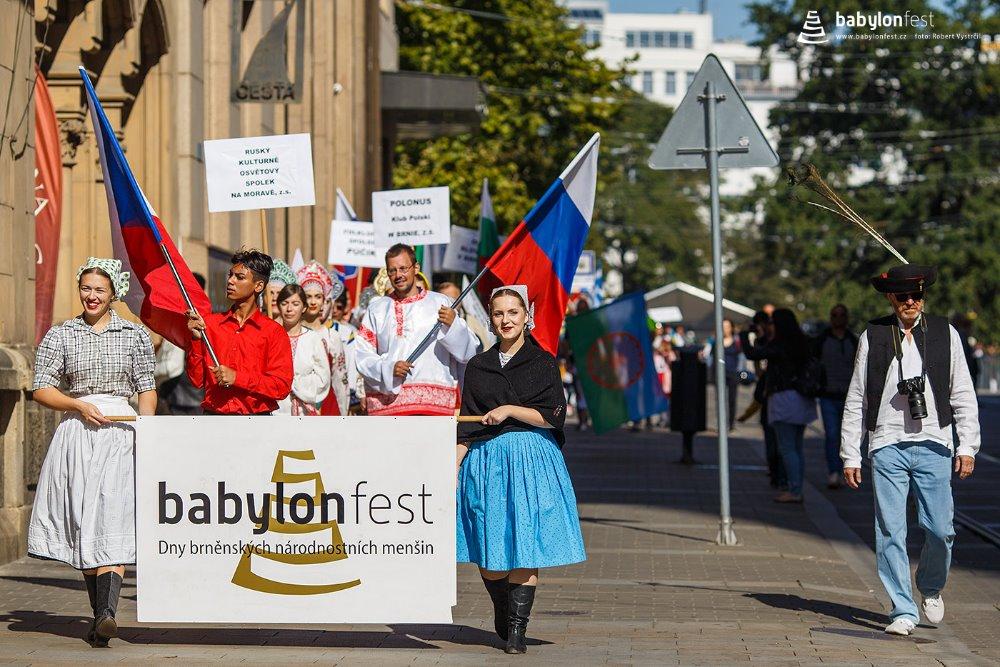 Na 12. Babylonfestu se objevilo 12 národnostních menšin