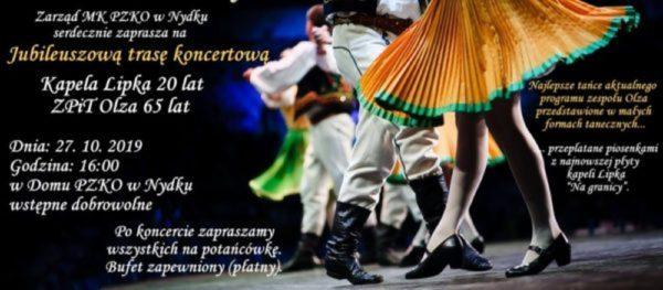Olza a Lipka vás zvou na společný jubilejní koncert