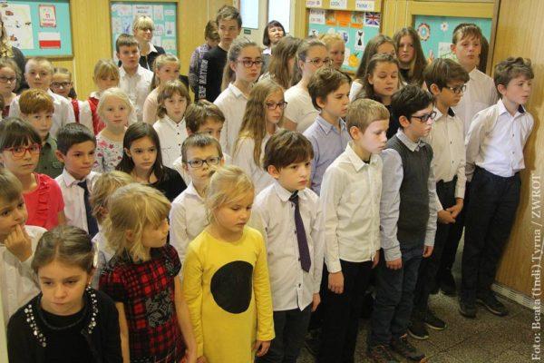 Slavnost v bludovické polské škole u příležitosti Dne nezávislosti
