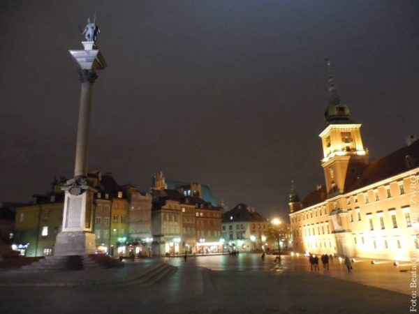 Snímky z Varšavy