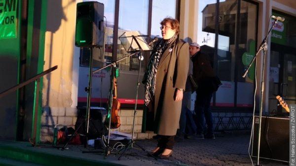 Milion chvilek pro demokracii v Jablunkově