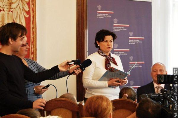Na Generálním konzulátu Polské republiky v Ostravě četli dětem