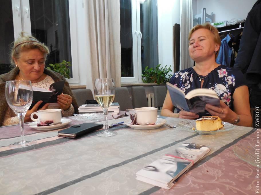 Danuta Chlup a Władysława Magiera hovořily o svých knihách ve Varšavě