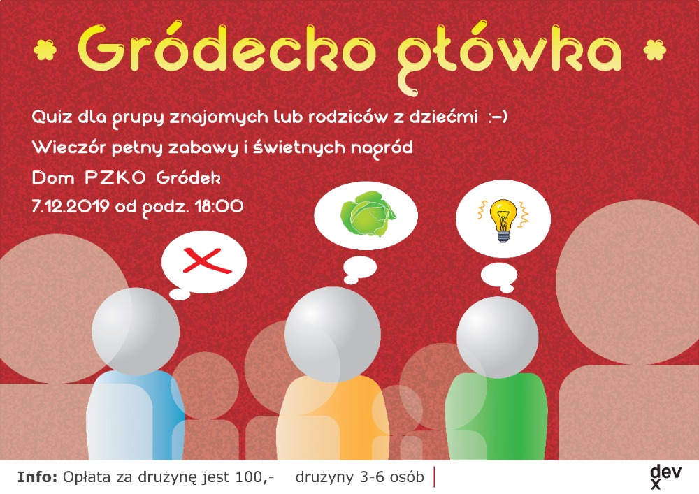 V Hrádku se uskuteční vědomostní soutěž Gródecka Główka