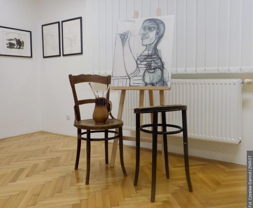 Litografie Pabla Picassa vmuzeu vTřinci
