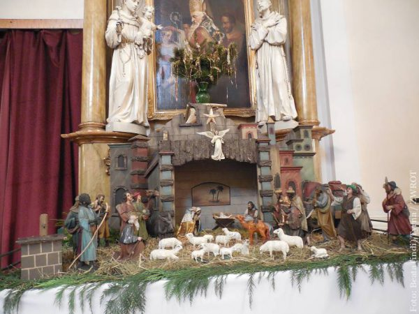 Jesličky v kostele sv. Jiří ve Slezské Ostravě
