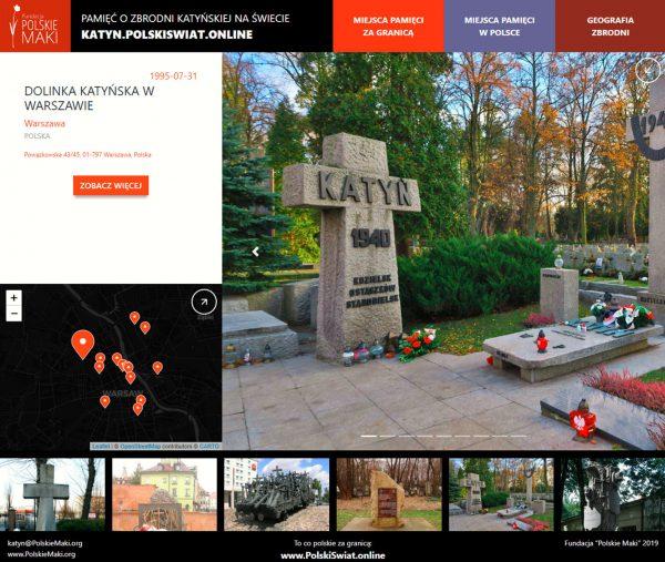 Vznikla mapa s pamětními místy katyňského masakru