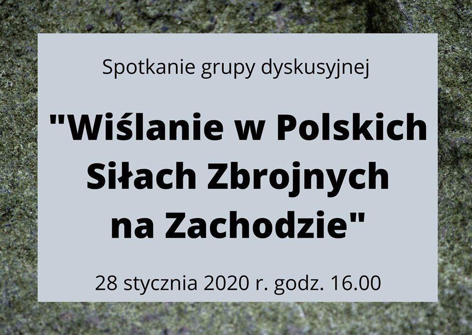 O Wislanech v Polských ozbrojených silách na Západě