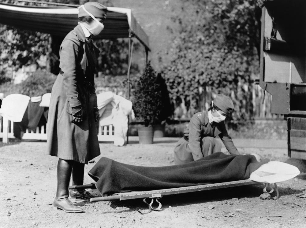Pandemie udeřila před koncem války