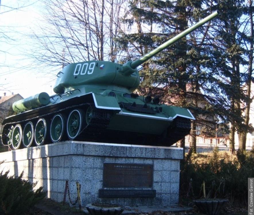 Stanislavice dostaly za odměnu vyřazený tank