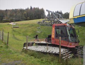 Lanová dráha na Čantoryji podstoupí každoroční údržbu