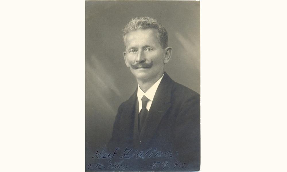 Józef Zielina – obětavý pedagog a schopný zahradník