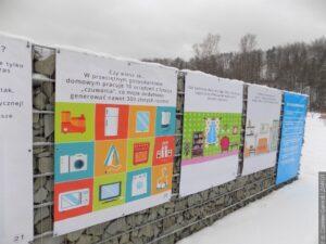 V Centru enviromentální výchovy je možno navštívit výstavu pod širým nebem