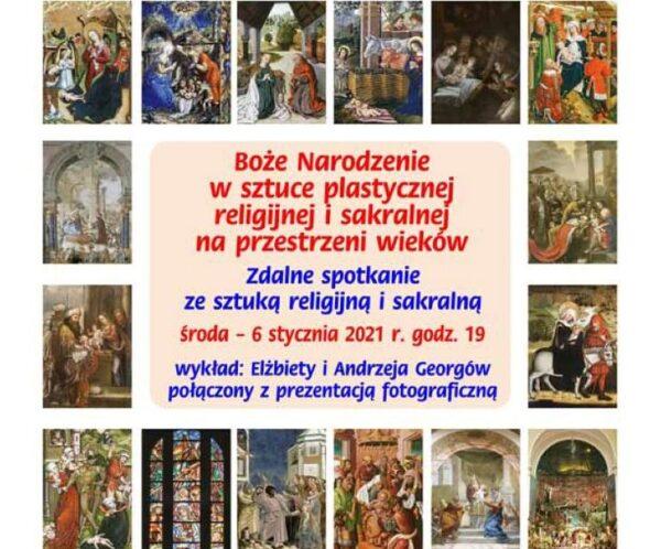 Narození Ježíše Krista v sakrálním umění