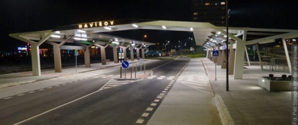 Nový dopravní terminál v Havířově je už v provozu
