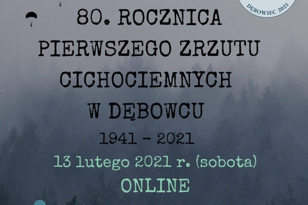 Slavnostní ceremoniál k 80. výročí seskoku Cichociemnych se uskuteční online