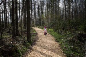 Zaběhejte si v lesoparku v Třinci