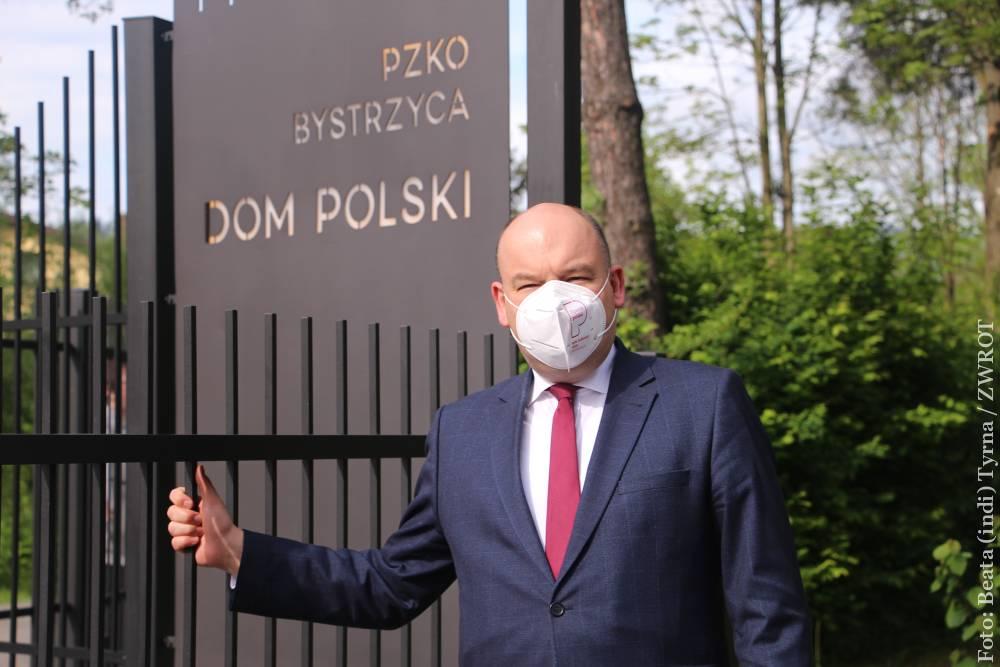 Ministr Jan Dziedziczak vypráví o své návštěvě v našem regionu