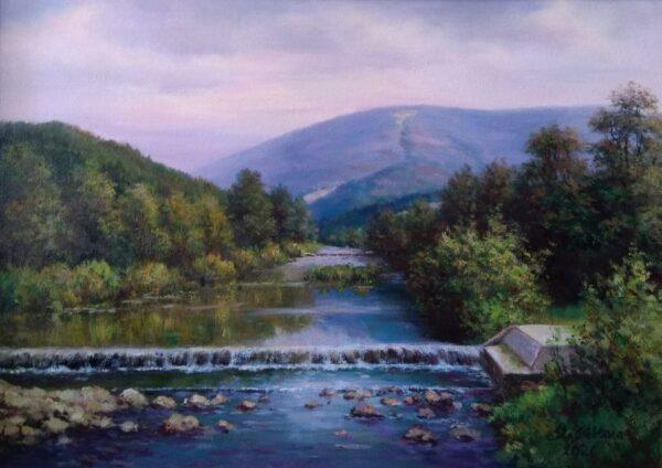 V Ustroňském muzeu je možno zhlédnout krajinomalby Stanisława Sikory